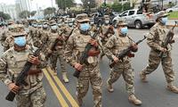 Ministerio de Defensa pide calma y unidad a la población.
