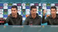 Cristiano Ronaldo, capitán de la selección de Portugal, fue noticia en las redes sociales.