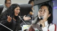Yesenia Ponce le recordó a Keiko Fujimori sus frustradas postulaciones a la presidencia.