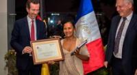 Liz Chicaje fue galardonada el máximo reconocimiento en favor de los defensores del medio ambiente en el mundo.