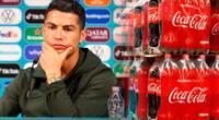 Cristiano Ronaldo le hizo perder dinero a Coca Cola.