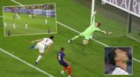 Francia abrió el marcador a los 20 minutos del primer tiempo por la Eurocopa 2021.