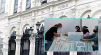 Defensoría del Perú se Pronunció tras solicitudes de nulidad de ambos partidos políticos.
