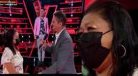 Guillermo Dávila cumple deseo de la mamá de un concursante y le canta en vivo