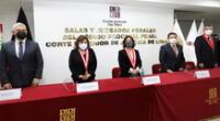 La presidenta del Poder Judicial, Elvia Barrios Alvarado, puso en vigencia el Nuevo Código Procesal Penal (NCPP) en la Corte Superior de Lima