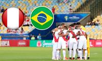 Perú vs. Brasil se enfrentan en duelo por la fecha 2 del Grupo B de la Copa América 2021 este jueves 17 de junio.