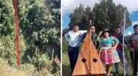 Cantantes folclóricos fallecen tras caída de minivan a más de 100 metros