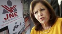Lourdes Flores miente al decir que recurso de anulaciones se extendió.