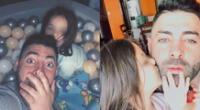 Sebastián Lizarzaburu y sus más tiernas imágenes al lado de su hija.