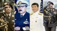 Alrededor de 400 oficiales en retiro del Ejército, 600 de la Marina y 300 de la Fuerza Aérea enviaron una carta indicando