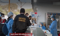 Policía Fiscal intervino módulo donde se tomaban pruebas antígenas sin autorización del Minsa