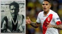 Félix Castillo y Paolo Guerrero son los jugadores peruanos con más presencias en la Copa América.