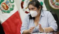 Nuria Esparch condenó actos las acciones de militares en retiro.