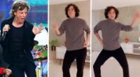 Vasco Madueño divierte con los 'pasos prohibidos' al estilo de Mick Jagger [VIDEO]