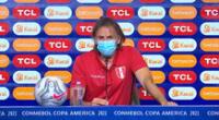 Ricardo Gareca aseguró que la selección peruana buscará ser protagonista contra Colombia en la fecha 2 por Copa América 2021.