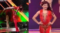 La Uchulú demostró sus dotes de baile en El Artista del año.