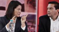 Keiko Fujimori insiste en asegurar la existencia de las presuntas firmas falsas en las mesas de votación.