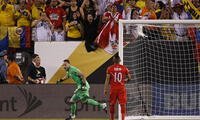 La última vez que se enfrentó Perú con Colombia fue en la Copa Centenario y lo cafeteros  ganaron en penales.