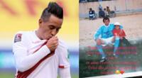 Christian Cueva, volante de la selección peruana, fue noticia en las redes sociales.