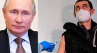 La campaña de vacunación en Rusia inició el pasado 5 de diciembre, con la vacuna Sputnik V desarrollada por el Centro Gamaleya.