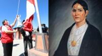 Micaela Bastidas fue una luchadora en la gesta independentista del país.