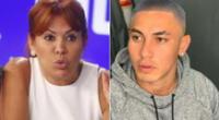Magaly Medina leyó la denuncia por agresión que le interpuso la aún esposa de Jean Deza y madre su hija al futbolista, y se mostró indignada.