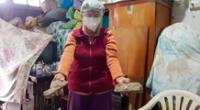 Adulta mayor de 91 años se salvó de morir tras derrumbe de su casa por temblor en Mala.