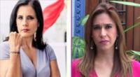 Claudia Cisneros corrigió a Verónica Linares al hablar de la supuesta toma de la Casa Blanca en EE.UU.