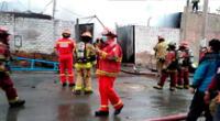 confirman la muerte de dos niños durante el incendio