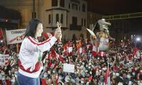 Keiko Fujimori habló sobre los Vladiaudios en los que Montesinos busca favorecerla.