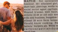 Publican un aviso sobre buscar una pareja y se vuelve viral