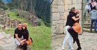 Edwin Sierra y Pilar Gasca viajan a Cusco y publican románticas fotos en Machu Picchu