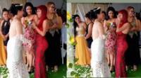 Deysi Araujo emocionada tras recibir bouquet en boda y ahora busca novio.