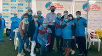 Martín Vizcarra recibió vacuna Pfizer