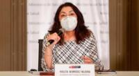 La titular de la PCM señaló que responderán a la carta enviada por Fujimori Higuchi respetando el orden jurídico.
