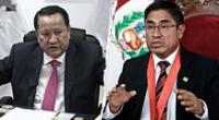 Luis Arce Córdova fue suspendido del JNE tras 'declinar' ante el máximo tribunal electoral.