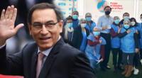 Martín Vizcarra publica su vacunación y personajes públicos reaccionaron.