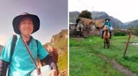 Enfermero recorre casi ocho horas para vacunar a menores de 5 años a los diferentes anexos de Cotahuasi, en Arequipa.