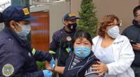 Mujer fue auxiliada por serenos de Surco