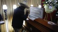 Simpatizantes de Perú Libre acusan a los fujimoristas por muerte de rondero ayacuchano.