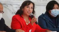 Dina Boluarte pide a las autoridades investigar el ataque que recibió Sacarías Meneses por parte del grupo radical La Resistencia.
