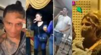 Jonathan Maicelo, Macarena Vélez, Paloma de la Guaracha y otros más captados en 'fiestas covid'