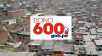 El Bono 600 se podrá cobrar hasta el 31 de agosto.