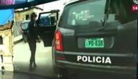 Policía acudió ayudar a mujer que era amenazada con machete