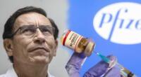 Usuarios en las redes sociales rechazan reciente vacunación del expresidente.