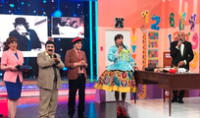 'Felpudini' en El reventonazo de la chola. Foto: difusión