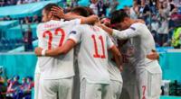 España venció 3-1 por penales a Suiza.