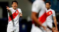 ¡Se lo quitaron! Gianluca Lapadula solo tiene dos goles en la Copa América 2021.