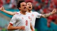 Delaney gol Dinamarca vs República Checa