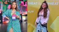 La cantante Amy Gutiérrez fue una de nuestras representantes en los Premios Heat, donde lució una pantalón con culturas incas.
